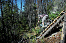 Quesnel, BC - DH riding