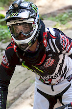 US Open DH Course Helmet Cam with Troy Brosnan