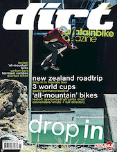 Dirt Magazine issue #52 - Darren and Drop In NZ get the cover!