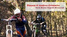 Thomas and Andrew Crimmins - Team Rouler Imports Morewood