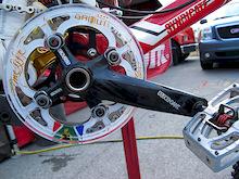 Interbike 2010 - Truvativ Descendant Cranks