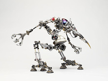 SRAM Robots Integrate Creativity and Componentry