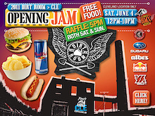 Rays Indoor Bike Park - Cleveland Dirt Room Opening Jam!