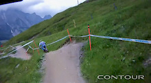 Leogang Track Helmet Cam