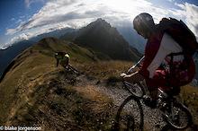 100,000: Riding Big in Switzerland.