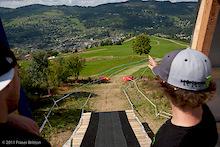 Course Walk at La Bresse World Cup