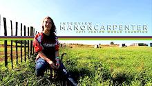 Manon Carpenter Junior World Champ Interview
