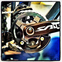 Shimano Prototype Chainguide Debuts at Sea Otter
