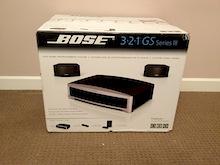 bose 321. Sheffield Bose 321