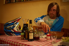Video: Pizza and Wine – The Best Way to Finish a Ride?