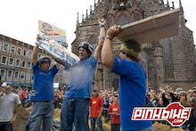 Cameron McCaul wins the Red Bull District Ride 2006 in Nuremberg-