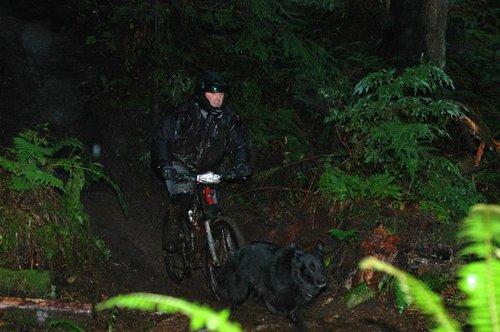 Todd and his race dog Hemi